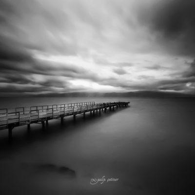longexposure shot of the pier