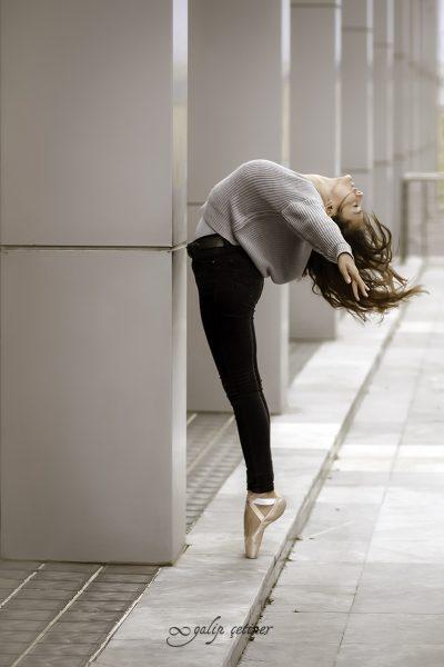 ballerina girl in action