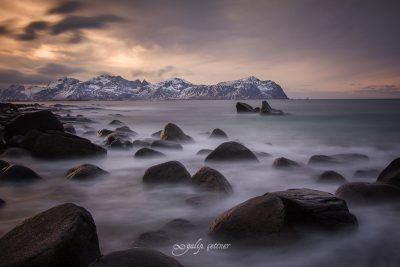 longexposure in Lofoten, Norway