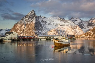 general view of Hamnoy, Lofoten, Norway