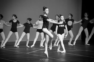 rehearsal for the ballet show