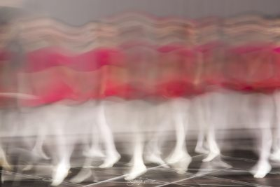 ballet show in slow motion