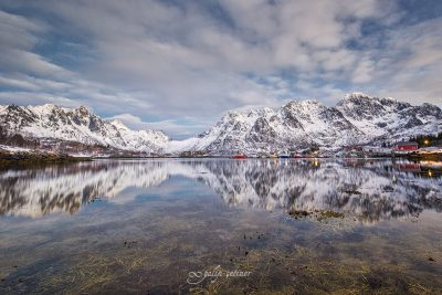 reflections from lofoten, norway